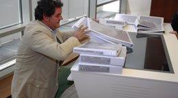 Foto: CMancha-Sescam analizará en un mes la documentación técnica de la UTE que presentó oferta para construir el H. de Toledo (EUROPA PRESS)