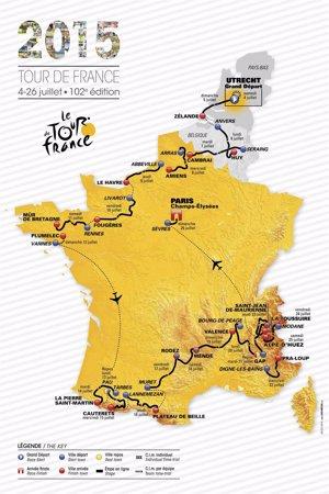 Foto: El Tour de 2015, dissenyat per als millors escaladors (HANDOUT / REUTERS)