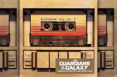 Foto: La banda sonora de 'Guardianes de la Galaxia' saldrá también en casete (DISNEY)