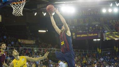 Foto: El Barcelona visita Milán sin Navarro (ACB PHOTO)