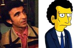 Foto: Un actor pide 250 millones a Los Simpson por copiar la so imaxe pa un personaxe (FOX)
