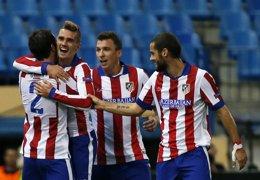 Foto: El Atlético derriba al Malmoe con una receta diferente (REUTERS)