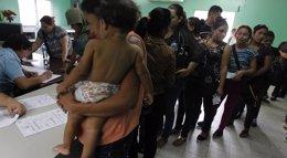 Foto: La sequía amenaza a más de 500.000 personas en Honduras, según la Cruz Roja (JORGE CABRERA / REUTERS)