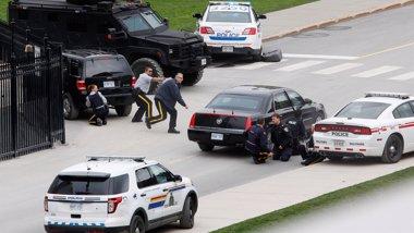 Foto: El sospechoso del tiroteo en Ottawa tenía antecedentes por robo y posesión de drogas (REUTERS)