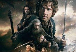 Foto: Póster final de El Hobbit: La batalla de los cinco ejércitos (MGM)