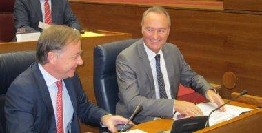 """Foto: Fabra dice que el Consell se persona en casos de presunta corrupción cuando hay """"quebranto económico"""" (EUROPA PRESS)"""