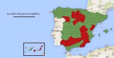 Foto: ¿Ha bajado el paro en mi provincia? El desempleo en España según la EPA (EUROPA PRESS)