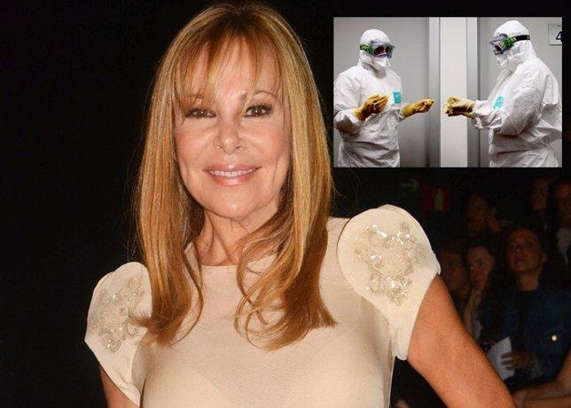 Ana Obregón se compra dos trajes 'anti-ébola' por eBay