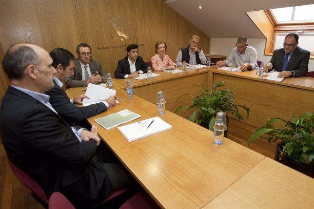 Reunión Xunta-Fegamp Sobre La Lei Do Solo De Galicia