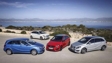 Foto: Mercedes-Benz renueva la Clase B, con versiones gas natural y eléctrica (DAIMLER)