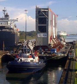Foto: Sacyr concluirá el traslado a Panamá de las compuertas del Canal con antelación a la fecha prevista (SACYR)