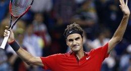 Foto: Federer remonta a Istomin para meterse en los cuartos de Basilea (ALY SONG / REUTERS)