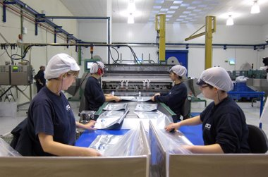 Foto: Los precios industriales subieron un 0,1% (EUROPA PRESS)