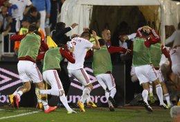 Foto: La UEFA otorga el triunfo a Serbia en el partido contra Albania pero no le concede los puntos (MARKO DJURICA / REUTERS)
