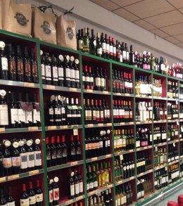 Foto: Economía.- El consumo de vino con DO en los hogares se elevó un 2,2% en valor a agosto, hasta los 288,1 millones (EUROPA PRESS)