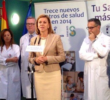 Foto: Cospedal inaugura un nuevo Centro de Salud en Albacete (EUROPA PRESS/JCCM)