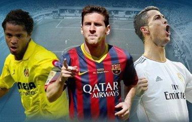 Foto: Messi, Cristiano y Giovani, nominados al mejor gol de la última Liga BBVA (LFP)
