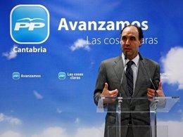 """Foto: Diego asegura que en las cuentas del PP de Cantabria """"todo es transparente"""" (PP)"""