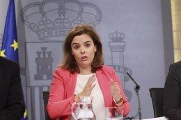 Foto: El Gobierno acuerda recurrir ante el TC los dos decretos de Canarias para la consulta sobre las prospecciones (EUROPA PRESS)