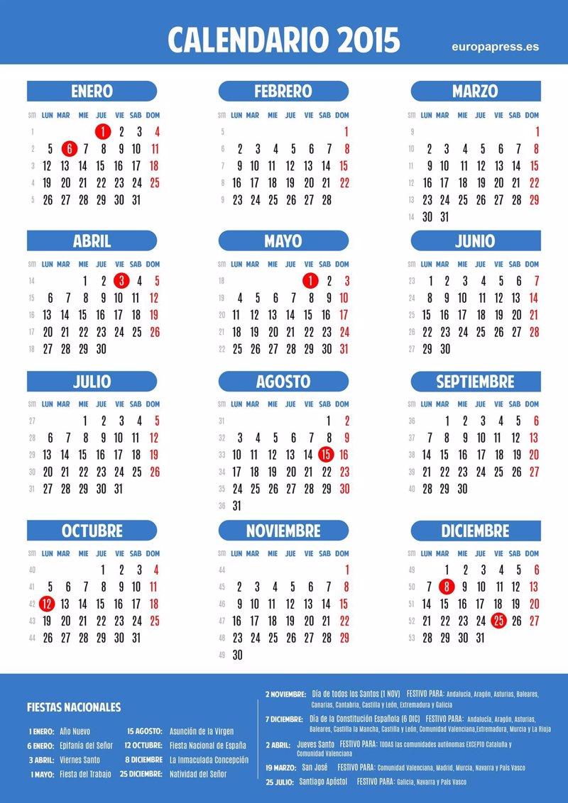 foto calendario extremadura: