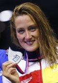 Foto: Mireia Belmonte, plata en la Copa del Mundo de Pekín (REUTERS)