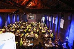 Foto: 120 desarrolladores en la FinAppsParty de CaixaBank (CAIXABANK)