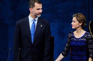 Foto: El 'código secreto' de Felipe VI y Letizia (GETTY)
