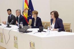 """Foto: Mulleres xordas de toda España reclaman en Santiago unha """"saúde sen barreiras"""" (XUNTA)"""