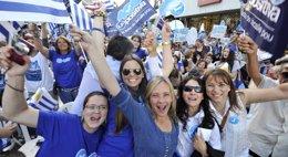 Foto: Uruguay.- Uruguay camina hacia un Parlamento fragmentado que condicionará el futuro Gobierno de Vázquez o Lacalle Pou (REUTERS)