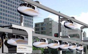 Foto: Tel Aviv, y el transporte del futuro a lo 'Minority Report' en 2015 (SKYTRAN)