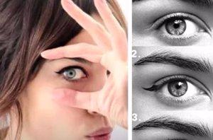 Foto: Aprende a pintarte los ojos: 4 formas de usar el eye liner (EUROPA PRESS)