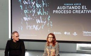 Foto: La nueva exposición de Ferran Adriá en Madrid (EUROPA PRESS)
