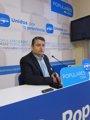 Foto: Sanz (PP) reclama que los presupuestos de la Junta contemplen inversiones por 683 millones para la provincia