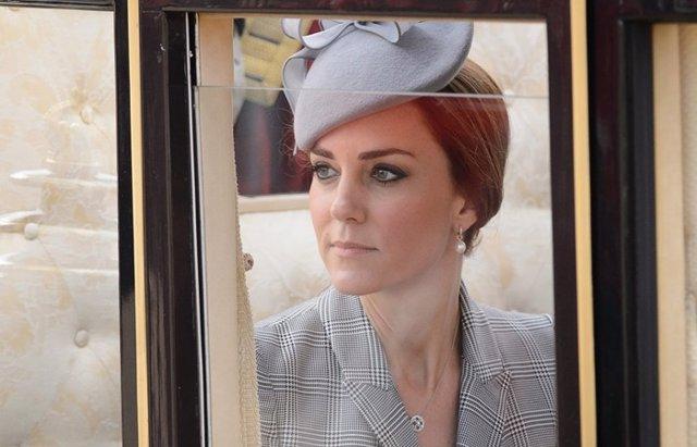 Foto: Kate Middleton sufre los estragos de su hiperémesis gravídica (CORDON PRESS)