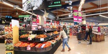 Foto: El IPC interanual escala una décima, hasta el -0,1%, por el precio de los alimentos (CAPRABO)