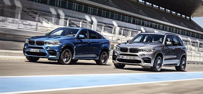 Foto: BMW desvela la versión renovada de los X5 M y X6 M (BMW)