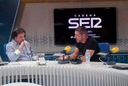 """Foto: Simeone: """"El desafío es superior, el año pasado fue extraordinario"""" (CADENA SER)"""