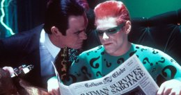 Foto: Tommy Lee Jones odiaba a Jim Carrey en Batman Forever (WARNER BROS.)