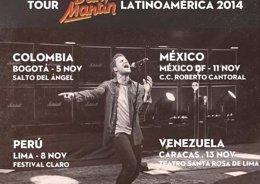 Foto: Dani Martín vuelve a América (SONY MUSIC)