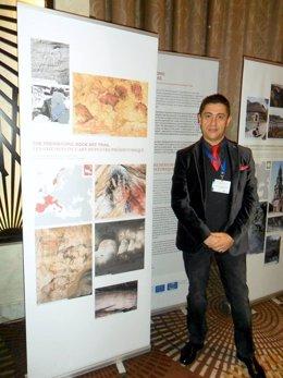 Foto: La Asociación Caminos de Arte Rupestre, en el Foro de Itinerarios Culturales de Baku (RED CÁNTABRA DE DESARROLLO RURAL)