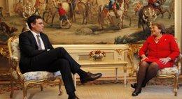 Foto: Sánchez traslada a Bachelet su intención de visitar Chile en una futura gira por América Latina (PSOE)