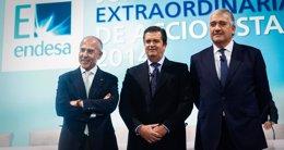Foto: (Ampl.) Endesa gana 1.219 millones hasta septiembre, un 21,4% menos, por cambios normativos y Latinoamérica (EUROPA PRESS)