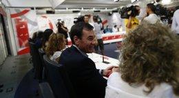 """Foto: Ferraz reafirma su apoyo a Gómez y dice que sería """"injusto"""" culparle de lo que Fraile hizo años después (EUROPA PRESS)"""