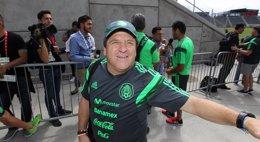 """Foto: Herrera: """"A Vela le convocamos como a todos, tiene mucha ilusión"""" (OMAR VEGA/NOTIMEX)"""