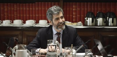 """Foto: Al presidente del Supremo le parece """"muy bien"""" la ampliación de jueces (EUROPA PRESS)"""