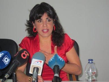 Foto: Teresa Rodríguez (Podem): No som un capítol anecdòtic en política (EUROPA PRESS)
