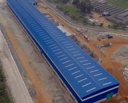 Foto: (Ampl.) Corporación Gestamp inaugura una fábrica de torres eólicas en Sudáfrica, de 20 millones de inversión (GESTAMP CORPORACIÓN)