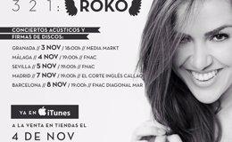 Foto: Fechas de las firmas de discos y actuaciones acústicas de Roko (ROKO)