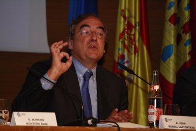 Foto: Rosell anuncia que tornarà a presentar-se a la presidència de la CEOE (EUROPA PRESS)