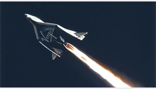 El avión espacial de Virgin Galactic se estrella